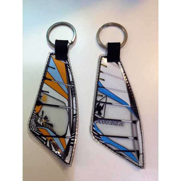 Nyckelring Windsurfingsegel