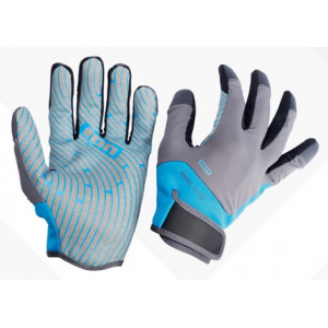 ION Amara Gloves Full finger Blue/Grey