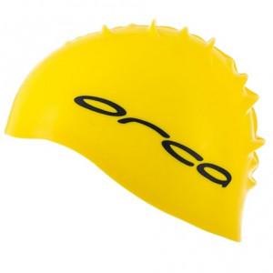 Orca Silicone Swimcap Bright Yellow (one size)