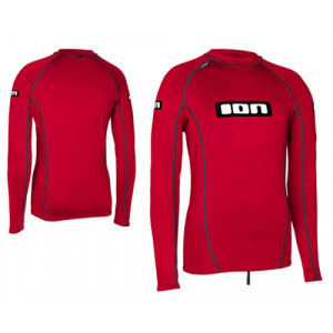 ION Rashguard Promo Top LS Red