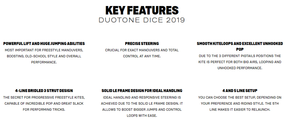 DICE Key Features