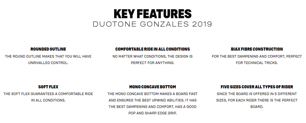 Gonzales Key Features