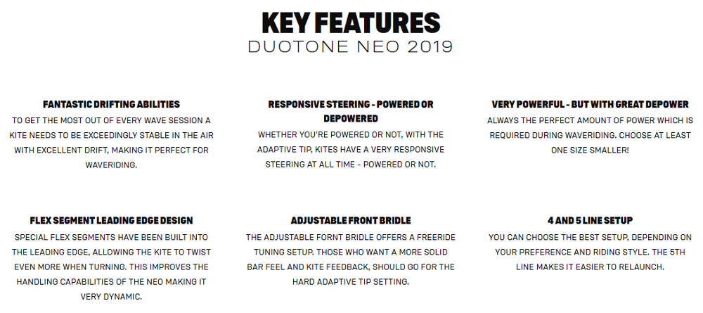 NEO Key Features
