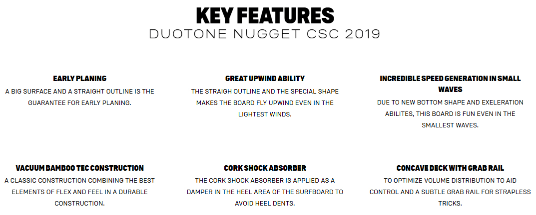 Nugget Key Features
