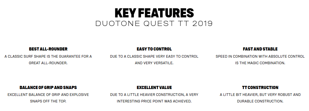 Quest Key Features