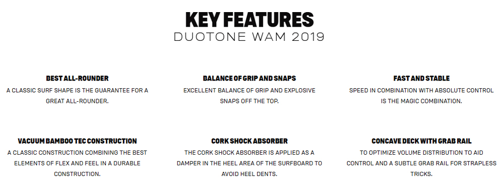 WAM Key Features