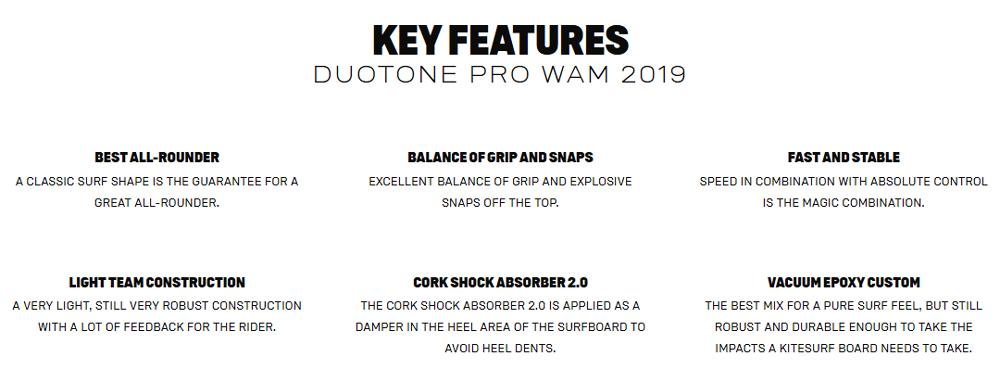 Pro Wam Key Features