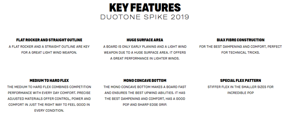 Spike Key Features