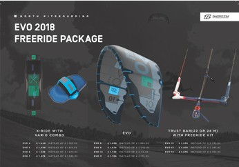 North Kiteboarding EVO paket